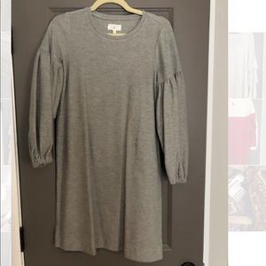 Lou & Grey Jersey Puff Sleeve Dress